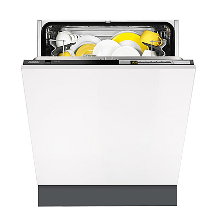 Zanussi ZDT26010FA, Fully Integrated Dishwasher with A++ Energy Rating - White
