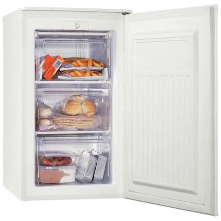 zanussi zft307mw 70 litre slim under counter freezer. Black Bedroom Furniture Sets. Home Design Ideas