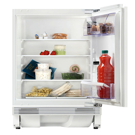 Zanussi ZQA14031DA, Integrated Undercounter Fridge with A+ Energy Rating