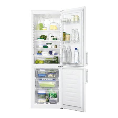 Zanussi ZRB24100WA, Freestanding Fridge Freezer with 246L Capacity in White. Ex-Display