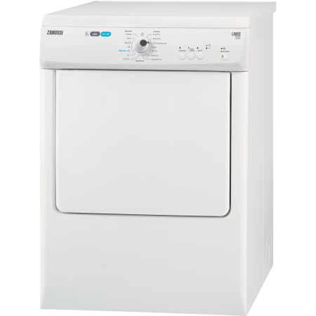 Zanussi ZTE7101PZ, 7kg Vented Dryer White with Sensor