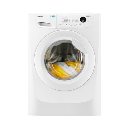 Zanussi ZWF71663W, Freestanding 7kg 1600rpm Washing Machine with A+++ Energy Rating - White.Ex-Display