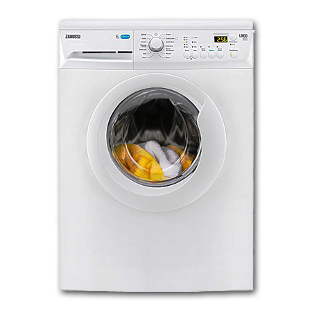 Zanussi ZWF81243W, 8kg 1200rpm Washing Machine with A+++ Energy Rating in White