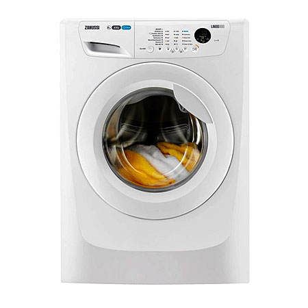 Zanussi ZWF81263W,  8kg 1200rpm Washing Machine with A+++ Energy Rating - White
