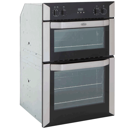 Belling Bi90mf 90cm Multifunction Double Oven Stainless Steel