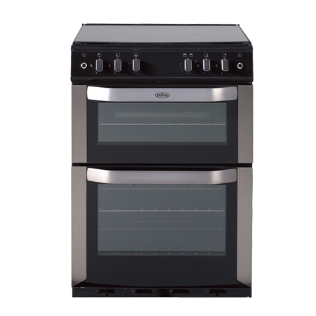belling BELFSG60DOPSST, Gas Cooker Stainless Steel with Double Oven and Programmer.Ex-Display