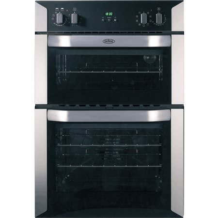 belling BI90MF, 90cm Multifunction Double Oven Stainless Steel