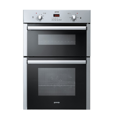 gorenje BD2116AX, Fan Assisted Built-in Electric Double oven in Stainless Steel