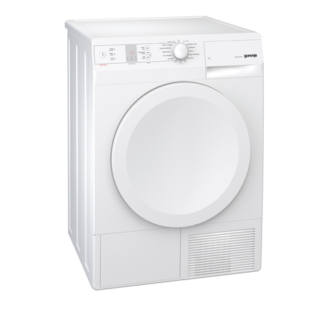 gorenje D744BJ, Freestanding 7kg Condenser Dryer in White