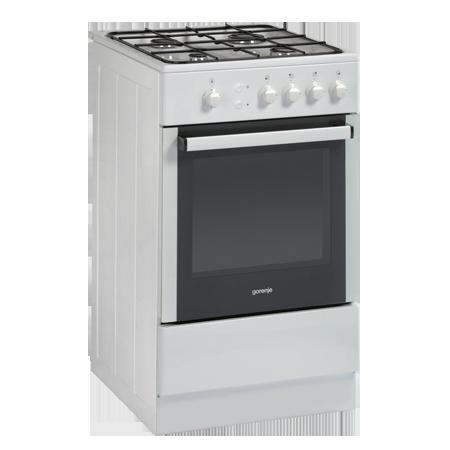 gorenje GI52108AW, Freestanding 50cm Gas Cooker