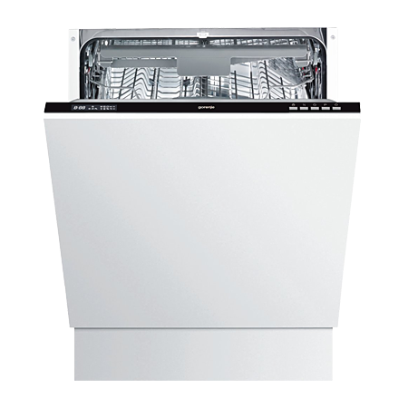gorenje GV63315UK, Built-In 60cm Dishwasher with A++ Energy Rating, 14 place settings