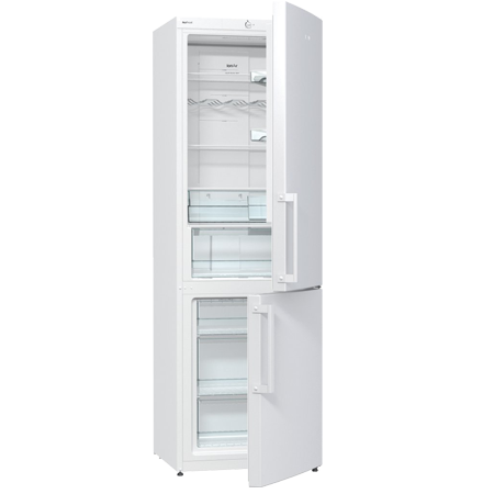 gorenje NRK6191GW, Freestanding Frost Free Fridge Freezer with A+ Energy Rating - White