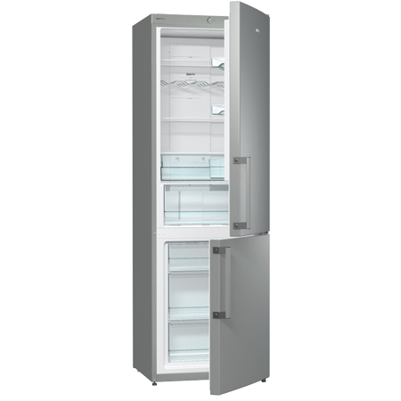 gorenje NRK6191GX, Freestanding Frost Free Fridge Freezer with A++ Energy Rating, Stainless Steel.Ex-Display