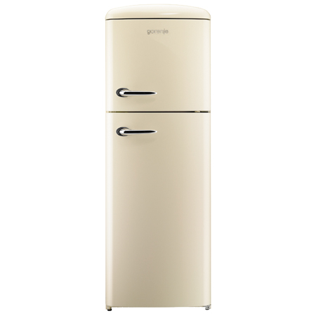 gorenje RF60309OC, Retro Collection Fridge Freezer in Champagne.Ex-Display Model