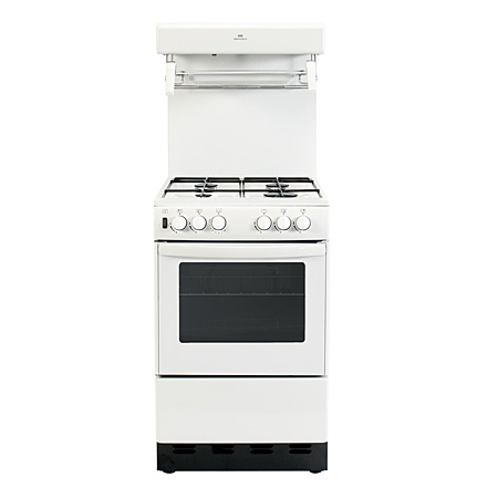newworld 50THLGWHT, Gas Cooker White with High Level Grill