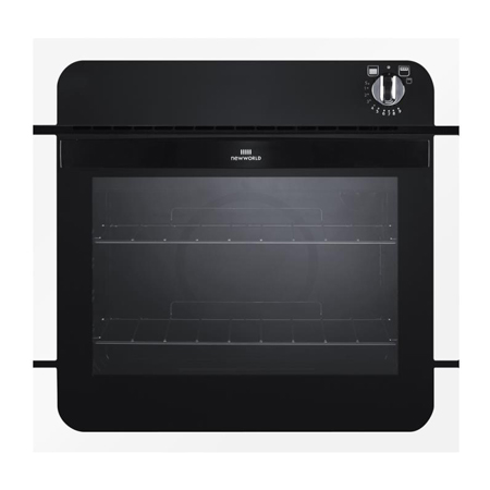 newworld NW601GWHI, Gas Single Oven with Electric Grill White