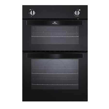 newworld NW901GBLK, Gas Twin Cavity Oven Black
