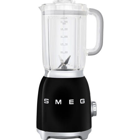 smeg BLF01BLUK, Retro style blender in Black