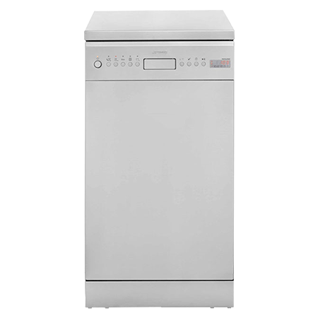 smeg D4SS-1, Freestanding 45cm Dishwasher Stainless Steel with 10 Place Settings