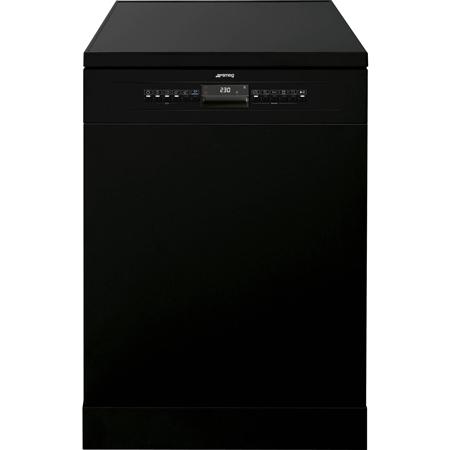 smeg DF613PBL, 60cm Dishwasher - Black - A+ Rated