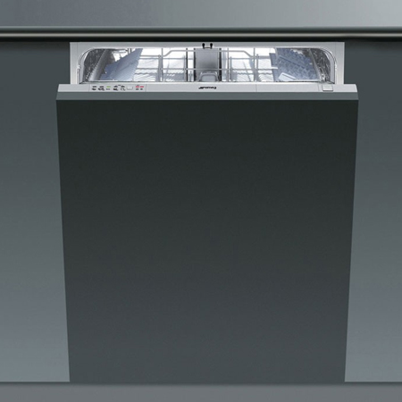 smeg DISD12, Fully-Integrated 60cm Dishwasher with 12 Place Settings and an A+ Energy Rating
