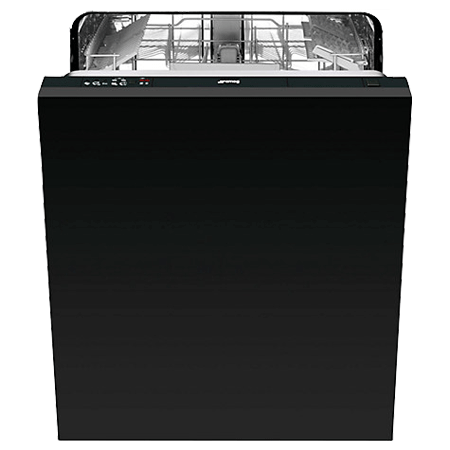 smeg DISD13, 60cm Fully Integrated Dishwasher with 13 Place Settings in Black