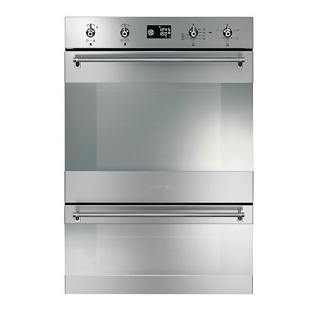 Double ovens with pyrolytic cleaning