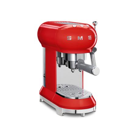smeg ECF01RDUK, Espresso Coffee Machine in Red