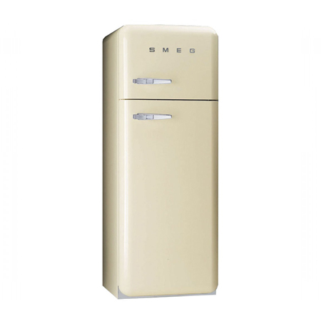 smeg FAB30RFC, Freestanding Fridge Freezer in Cream