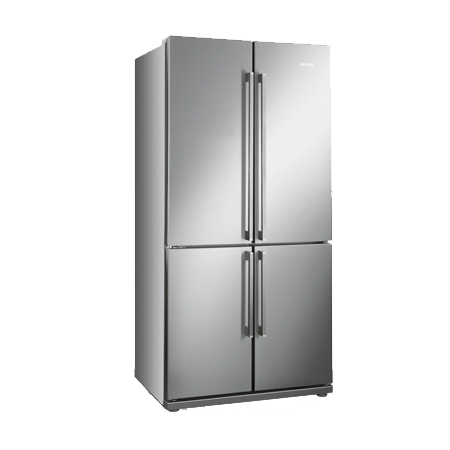 smeg FQ60XP, Side by Side 4 Door Fridge Freezer in Stainless Steel.Ex-Display