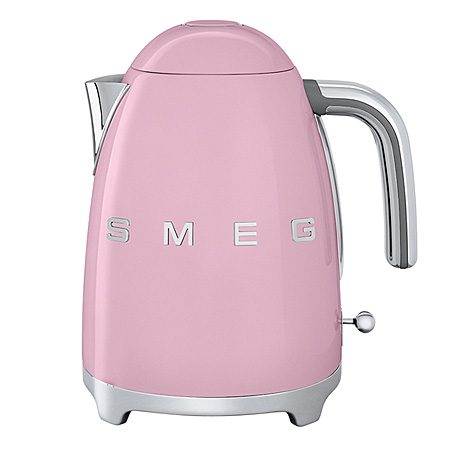 smeg KLF01PKUK, 50s Retro Style Kettle in Pink.Ex-Display Model