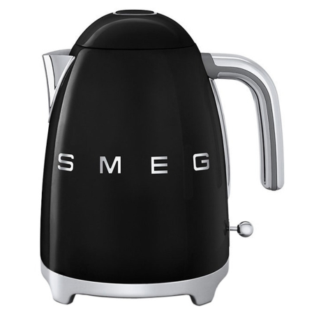 smeg KLF11BLUK, 50s Retro Style Kettle in Black