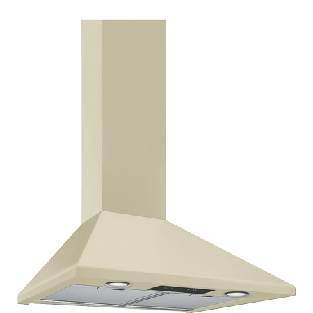smeg KSED65PE, 60cm Chimney Hood Cream