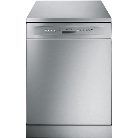 smeg LV612SVE, 60cm Freestanding Dishwasher in Stainless Steel with A+ Energy Rating