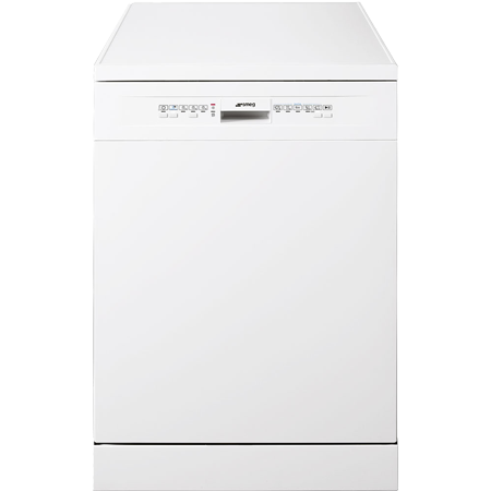 smeg LV612WE, 60cm Freestanding Dishwasher with 12 place settings and A+ Energy Rating