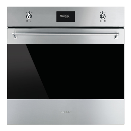 smeg SF6371X, Multifunction Electric Single Oven Stainless Steel A Rated