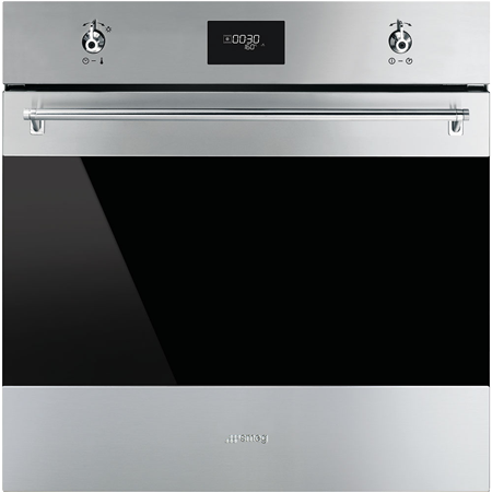 smeg SF6372X, 60cm Multifunction Electric Single Oven Stainless Steel with A Rated Energy