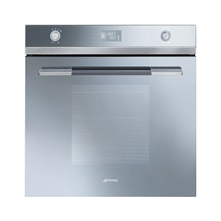 smeg SFP125S1, 60cm Linea Pyrolitic Multifunction Oven with Energy Rating A