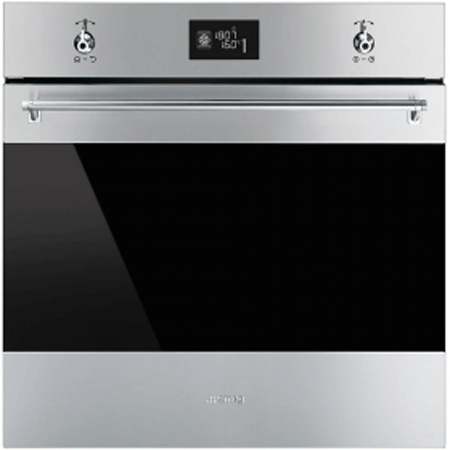 smeg SFP6390XE, 60cm Pyrolytic Multifunction Electric Oven Stainless SteeL