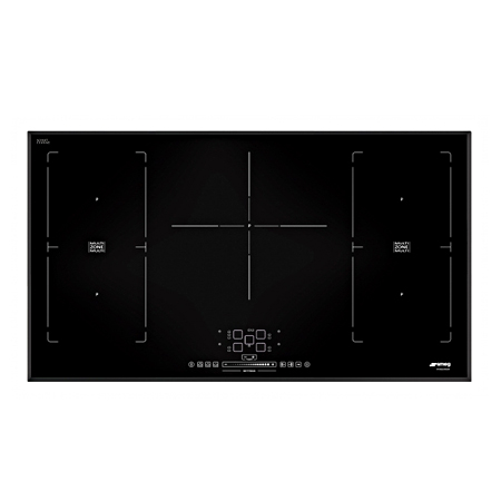 smeg SIM592B, 90cm Induction Hob with Touch Controls