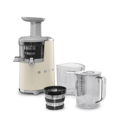 smeg SJF01CRUK, Smeg Slow Juicer in Cream