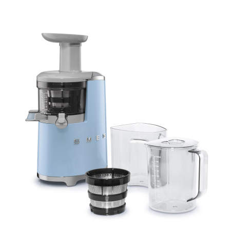 smeg SJF01PBUK, Smeg Slow Juicer in Pastel Blue