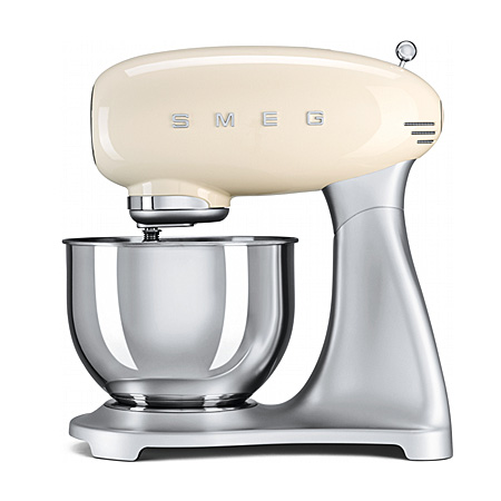 smeg SMF01CRUK, 50s Retro Style Stand Mixer in Cream