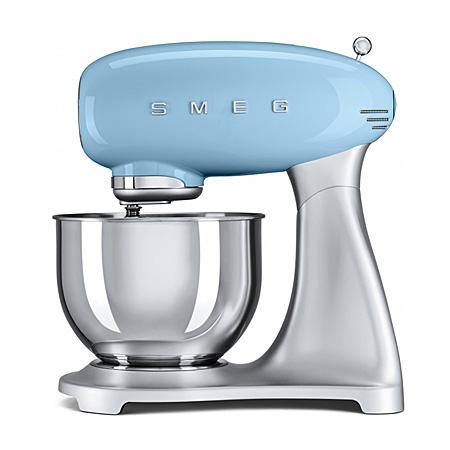 smeg SMF01PBUK, 50s Retro Style Stand Mixer in Pastel Blue