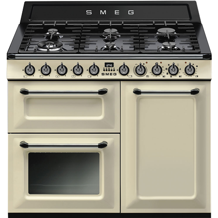 smeg TR103P, 100cm  Dual Fuel Range Cooker with A/B Energy Rating
