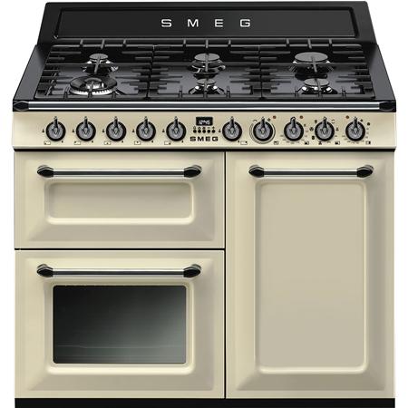 smeg TR103P, 100cm  Dual Fuel Range Cooker with A/B Energy Rating