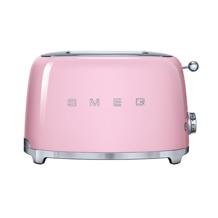 smeg TSF01PKUK, 50s Retro Style 2 Slice Toaster in Pink.Ex-Display Model
