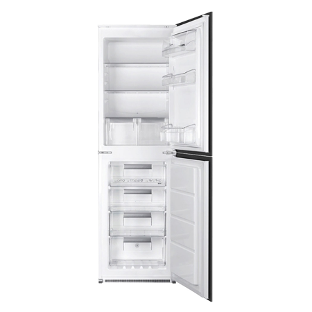 smeg UKC7172NP, Integrated In - Column Frost Free Fridge Freezer with A+ Energy Rating