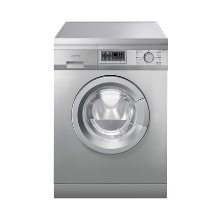 smeg WDF147X, Freestanding 60cm 7 Kg Washer 4 Kg Dryer - Stainless Steel, A Energy Rating