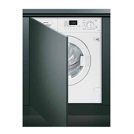 smeg WDI14C7, Fully-Integrated 1400rpm Washer Dryer - 7kg Washer / 4Kg dryer- Class A